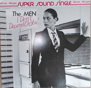 12-034-MAXI-The-Men-I-Don-t-Depend-on-You-VG-cleaned-Virgin-600-094-Germany