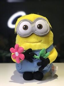 Brand-New-Minion-Minions-Plush-Flower-Japan-Universal-Studio-Soft-Fluffy-Rare