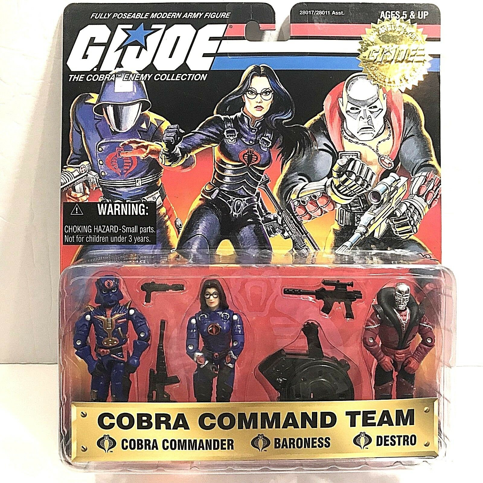GI Joe Cobra Commando Team 1997 Baroness Destro Commander 15th Anniversary