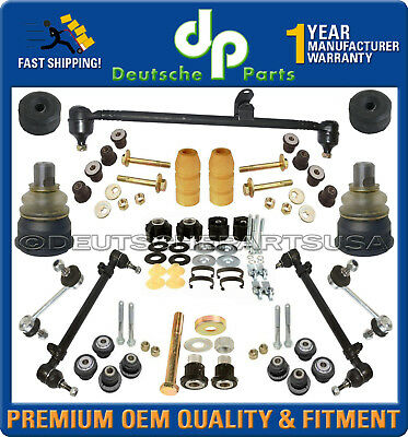 17 Piece Steering /& Suspension Kit Ball Joints Tie Rods Idler Arm Sway Bar Links