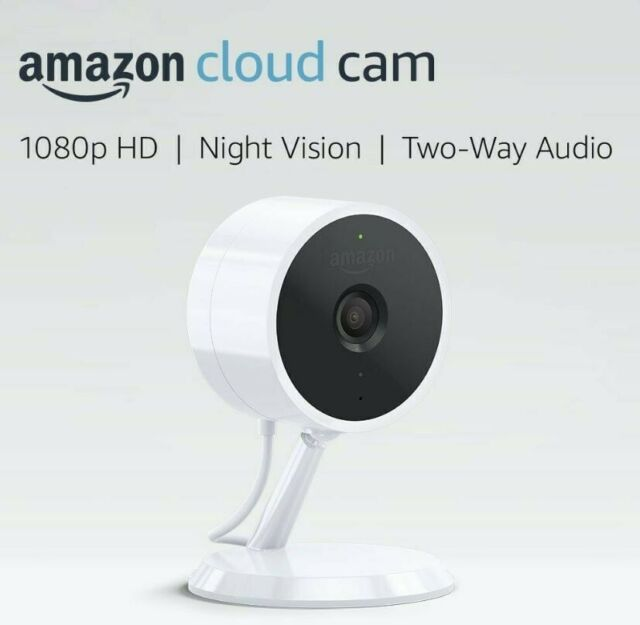 Brand NEW Sealed Amazon Cloud Cam Indoor Security Camera works with Alexa White