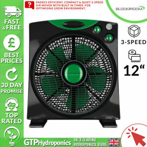 "Capable Bloomroom Air Mover 12"" - Air Circulateur Fan 12 In (environ 30.48 Cm)/3-vitesse Gtp Hydroponics-afficher Le Titre D'origine Nous Avons Gagné Les éLoges Des Clients"