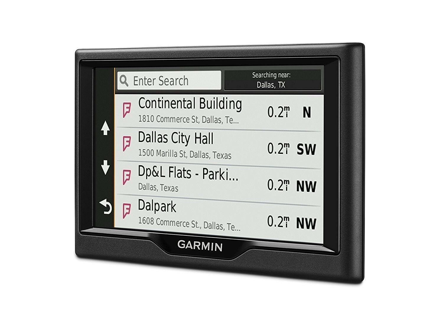 Garmin Nuvi 57LM GPS Navigator System with Spoken Turn-By-Turn Directions,5  inch
