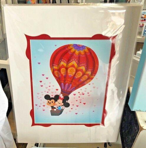 Disney WonderGround  Mickey Minnie Our Limitless Love Deluxe Print Nidhi Chanani