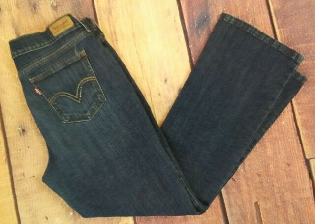 c2cfee3b Levis 515 Boot Cut Blue Jeans Womens Size 10 S Short Stretch for ...