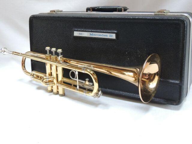 NICE BACH🎺 MERCEDES II ORIGINAL Trumpet, Case, Mouthpiece EXTRAS!
