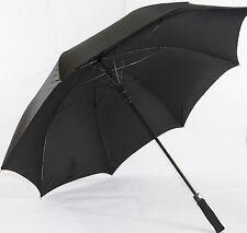 Hochwertiger XXL Regenschirm/ Portierschirm, Automatik in schwarz 130cm  HT5939P