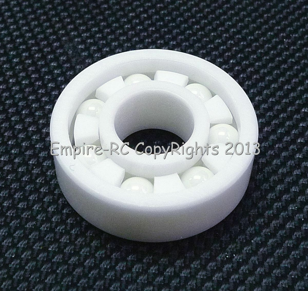 (1 PCS) 6204 (20x47x14 mm) Full Ceramic Zirconia Oxide Ball Bearing (ZrO2)