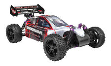 REDCAT RACING Shockwave 1/10 Scale Nitro Fuel Offroad RC 4WD Buggy 2.4GHz - RED