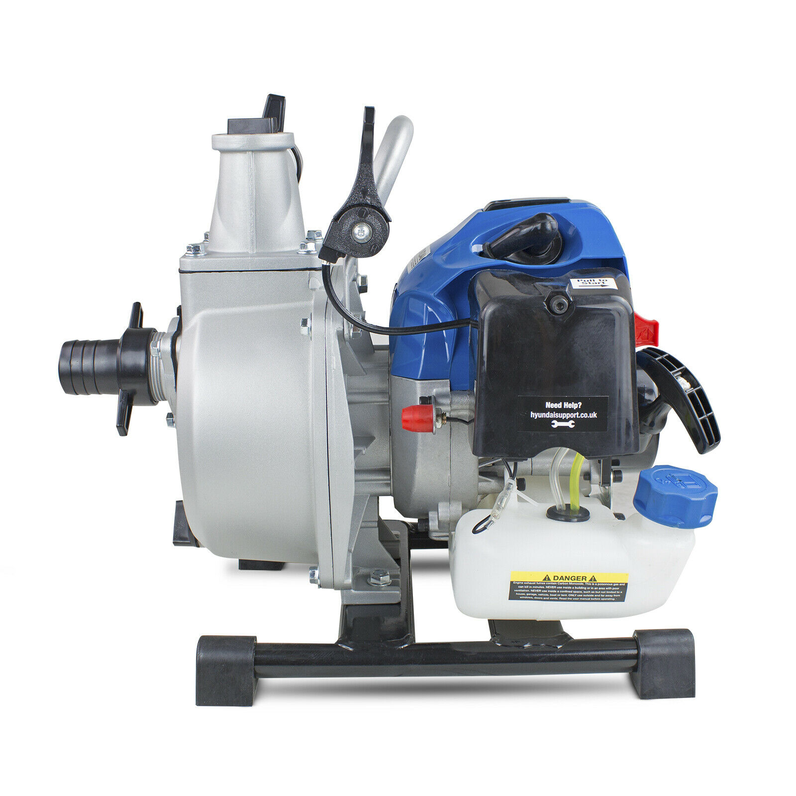"⚫ Petrol Water Pump 1.5"" Portable Pond Pool Flooding Drainage 250L/Min 2Stroke🔵"