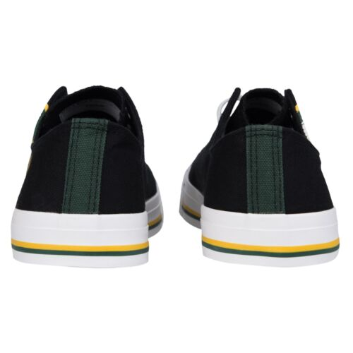 Green Bay Packers Big Logo Low Top Sneakers Team Color Shoes US Men/'s Sizing
