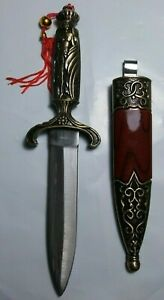Ornate-Greek-Mongolian-Athame-Wicca-Wiccan-Pagan-Altar-Dagger-Knife