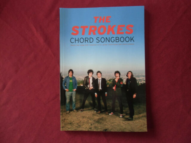 The Strokes - Chord Songbook . Songbook Vocal Guitar Chords