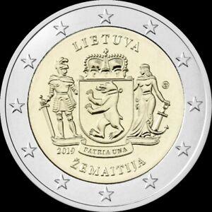Litouwen-2019-Zemaitija-2-euro-CC-UNC