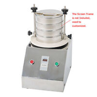 220v Vibrating Sieve Machine For Granule/powder/grain Electric Lab Shaker 1-4mm