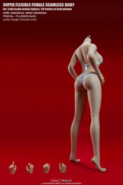 TBLeague S42A 1/6 Large Breast Female Pale Body Girl Figure W/Bikini Set