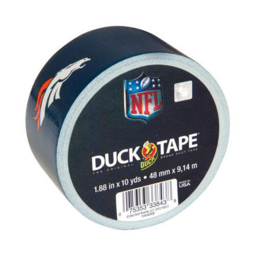 Pick your Team NFL National Football League Licensed Duck Brand Duct Tape Rolls