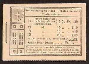 s1585-Schweiz-Markenheftchen-MH-17-Alpenlandschaft-Baum-postfrisch