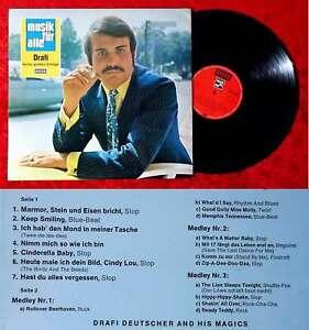 LP Drafi Deutscher: Drafi - Seine großen Erfolge (Decca Musik für Alle ND 150) D