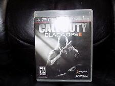 Call of Duty: Black Ops II (Sony PlayStation 3, 2012) EUC