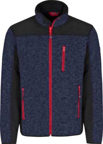 Bull Star Softshell chaqueta de punto chaqueta de trabajo chaqueta Duo Marine//negro talla m