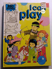 RARE - Big Books for Little Ones - I Can Play - Preschool Press - 1984