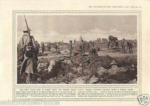 Verdun-French-Guard-German-Prisoners-Women-Factory-War-WWI-14-18-PLANCHE-1916
