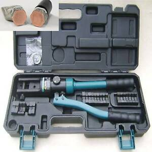 HYDRAULIC10-300MM-LUG-FERRULE-CRIMPING-BATTERY-WIRE-CABLE-CRIMPERS-TOOL-CRIMPER