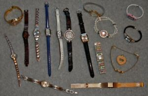Lot-of-17-Ladies-Womens-Watches-Some-Vintage-REDUCED-PRICE