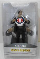 """President Barack Obama Superman Exclusive 7"""" Action Figure RED SUPER OBAMA"""