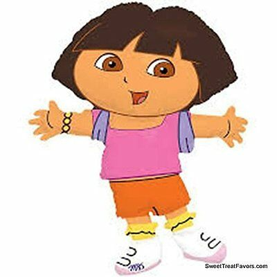 Dora The Explorer Balloon Mylar Shape Birthday Decoration Party Girl Diego Favor