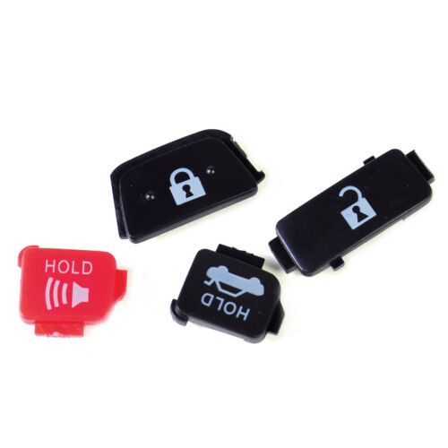 New Car Replacement 4 Button Remote Key Case Shell FOB Fits Toyota Camry Corolla