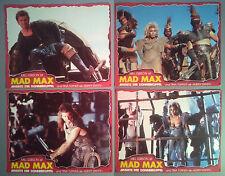 Lobby Card Lot x 8~ MAD MAX 3 BEYOND THUNDERDOME ~1985 ~Mel Gibson ~Tina Turner
