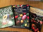 FRUIT AND VEGETABLE GARDEN-Diggers Club,ORGANIC DOCTOR-Jackie French,Lothian SET
