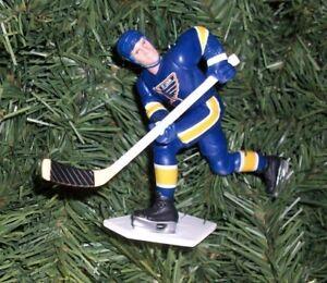 Pat LaFontaine Buffalo Sabres Blue Jersey Hockey Christmas Tree Ornament