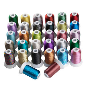 SIMTHREAD-Metallic-Embroidery-Machine-Thread-32-Different-Colors-550Y-Each