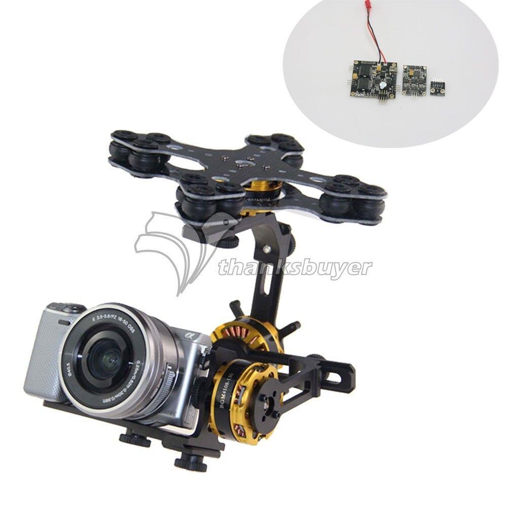 Dys 3 achsen brstenlose kardan auf kit + motor alexmos bgc2.4 controller - f   sony neben ildc
