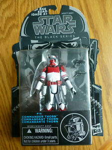 "STAR WARS the black series COMMANDER THORN phase II 3.75/"" the clone wars #15"