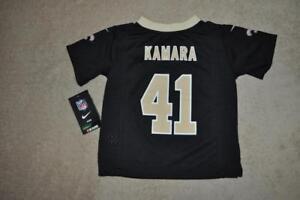 100% authentic 6df07 fb97b Details about New Orleans Saints ALVIN KAMARA Nike Jersey #41 Kids Toddler  Black NWT