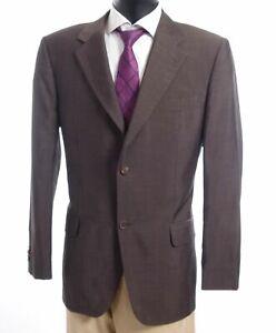 HUGO BOSS Sakko Jacket Gilbert Gr.54 braun uni Einreiher 2-Knopf -S365
