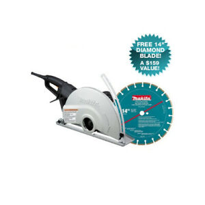 Makita 4114X-R 15 Amp 14 in. Electric Angle Cutter Certified Refurbished