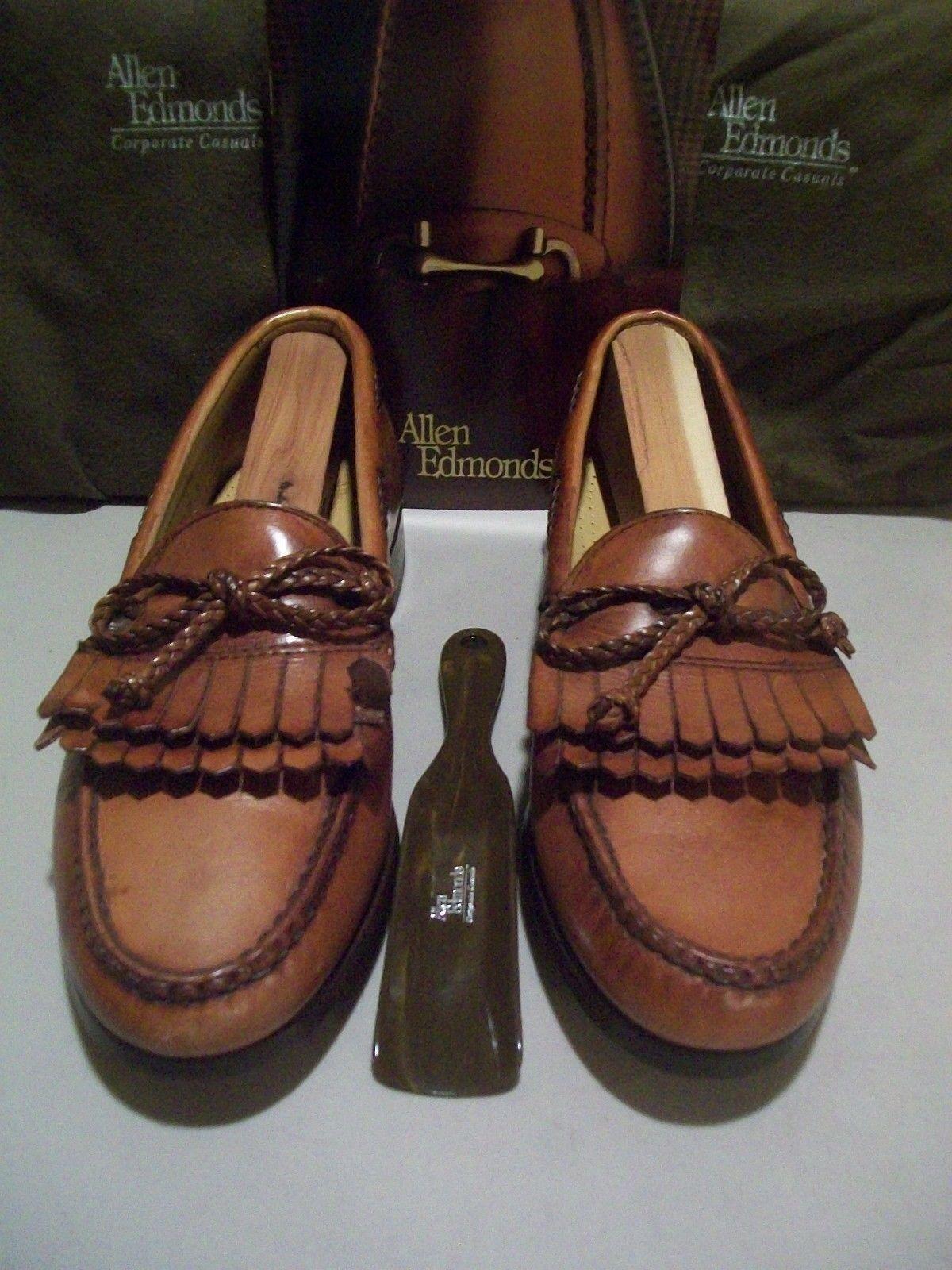 Scarpe casual da uomo  New 1st Quality Allen Edmonds Woodstock 7 D chili