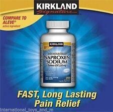 Kirkland Signature™ Naproxen Sodium 220 mg, 400 Caplets EXP 01/2018