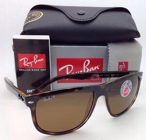 42e54597c42 Polarized RAY-BAN Sunglasses RB 4147 710 57 60-15 Light Havana with ...
