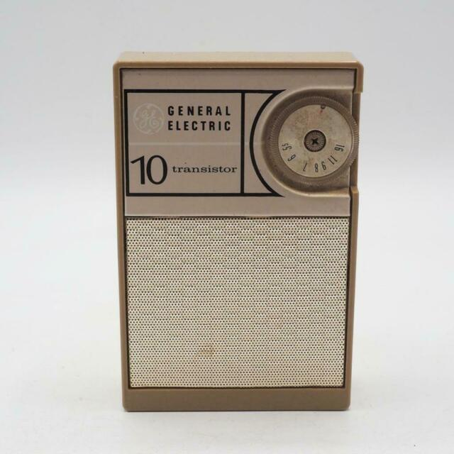 Transistor Radio General Electric P1704B AM Vintage