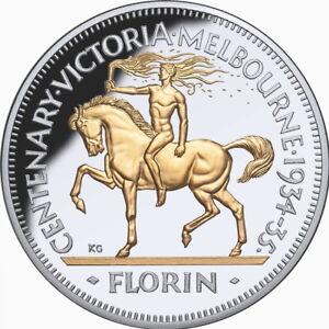 Niue-2020-Melbourne-Victoria-Centenary-Florin-85th-1934-1935-10-5-Oz-Silver-Prf