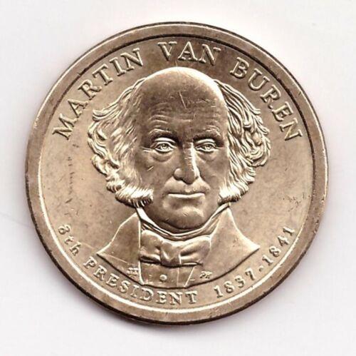 2008 D President Martin Van Buren Golden Colored Dollar $1