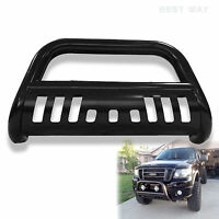 Fit 2006-2008 Dodge Ram 1500 Black Bull Bar Brush Push Grill Front Bumper