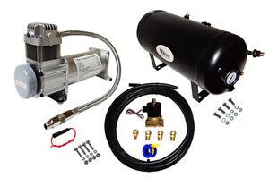 "Air Suspension 1//2/"" Air Hose Upgrade Kit For Air Horns"