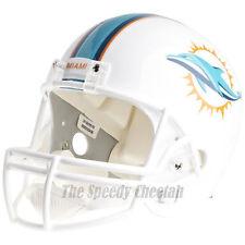 MIAMI DOLPHINS RIDDELL VSR4 NFL FULL SIZE REPLICA FOOTBALL HELMET